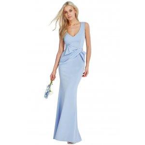 725af0bc47 Wyszczuplająca długa sukienka na wesele błęki... - Sukienki ...