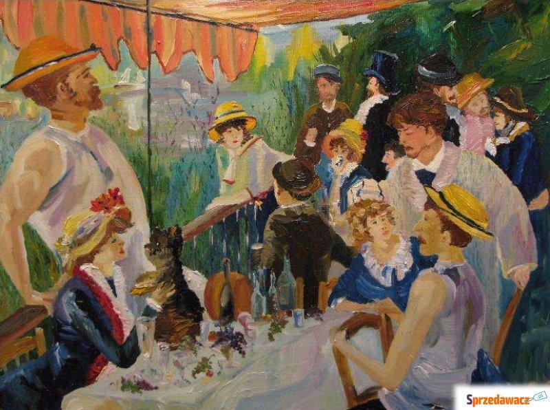 Renoir śniadanie Wioślarzy Impresjonistyczny Obrazy Warszawa