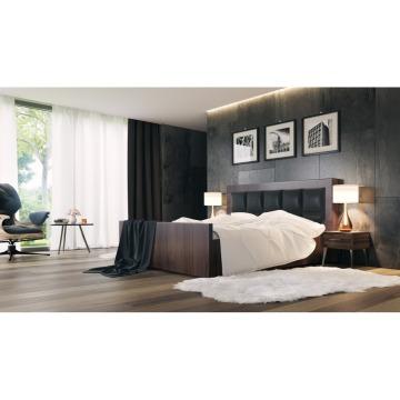 łóżko Tapicerowane Comfortbe Bronx Z Pojemnikiem 160x200